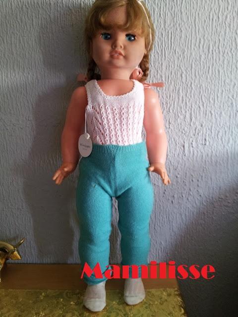 Pantalones originales de Muñeca Cristina