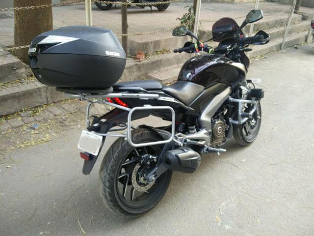 bajaj dominar custom built sahyadri moto