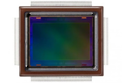 The Canon-developed approximately 250-megapixel CMOS sensor