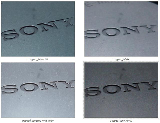 Hasil Foto Perbandingan Kamera Advan G1, Infinix Hot Note, Samsung Galaxy Note 3 Neo dan Sony A6000