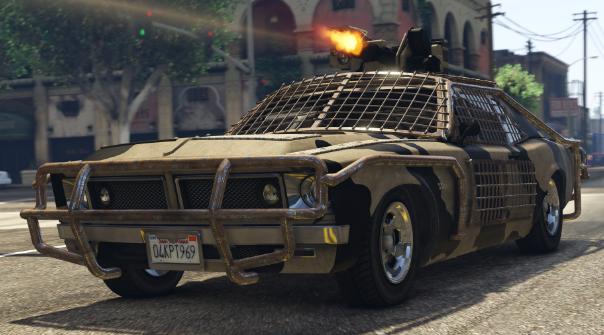 عربات مسلحة جراند ثفت اوتو