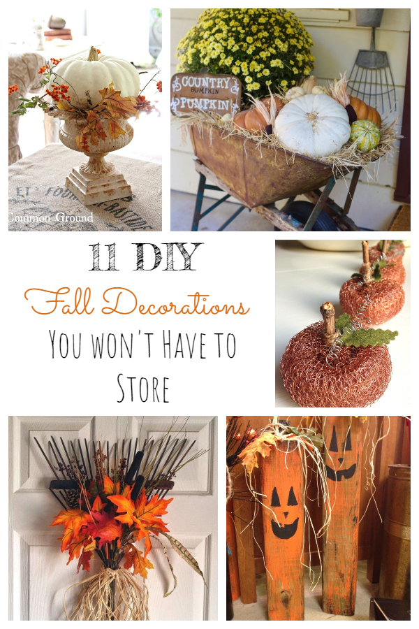 11 DIY Fall Decorations You Won't Have to Store!