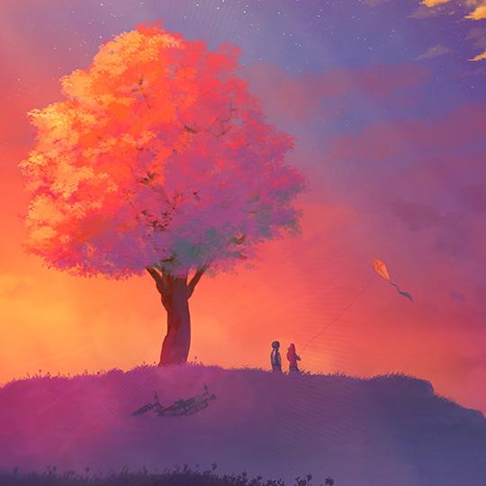 Fantasy Tree Art Wallpaper Engine