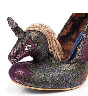 Weird Shoe Wednesday : Unicorn Shoes From Irregular Choice