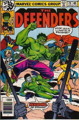 Defenders #70, Lunatik