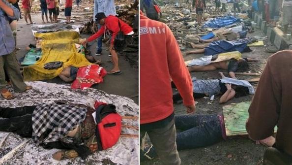 Tsunami: Mayat bergelimpangan, hampir 100 mangsa terkorban