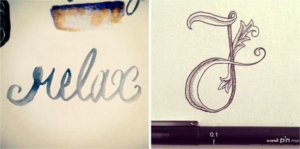 Recent Illustration, Lettering & Doodles by fathima at Happiness is...