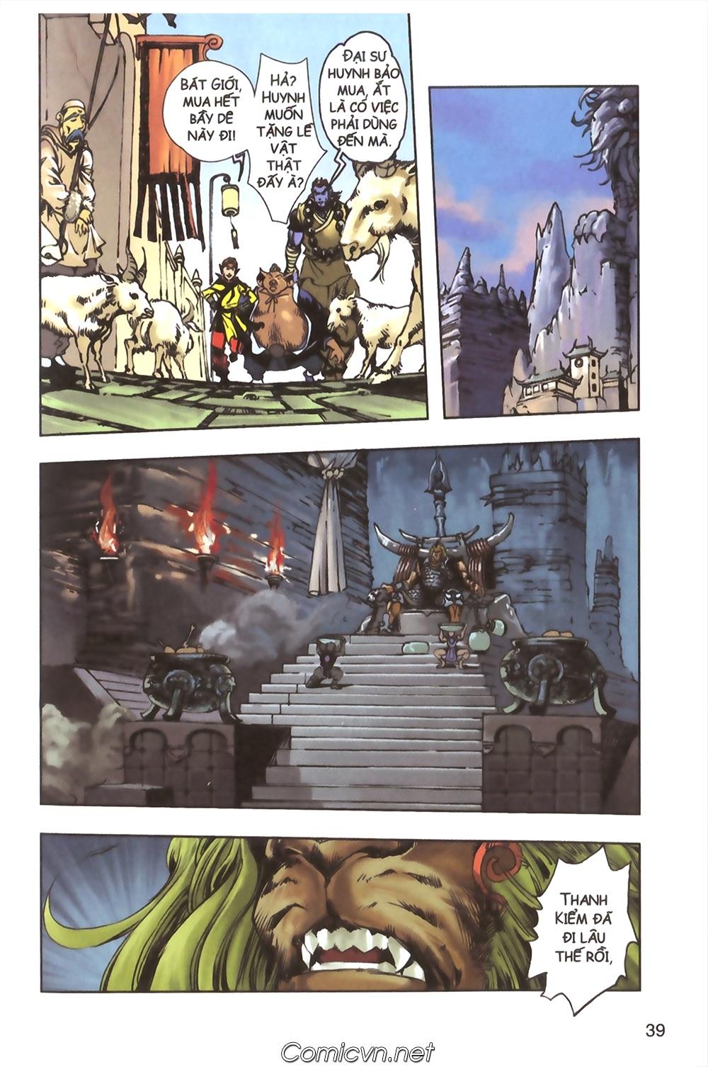 Tây Du Ký màu - Chapter 124 - Pic 35