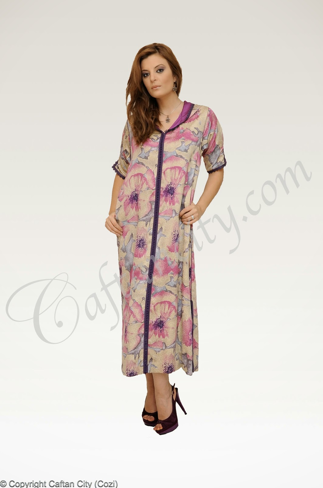 Djellaba, djellaba violet, djellaba rose, djellaba luxe, djellaba marocaine, Djellaba Mauve, djellaba moderne, djellabti, djellaba femme,