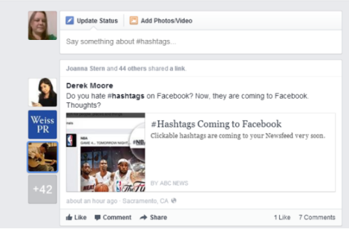 How To Hashtag On Facebook