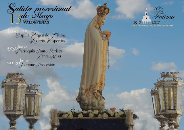 Salida de la Virgen de Fátima 2017