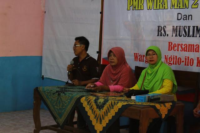 Sosialisasi Kesehatan PMR WIRA MAN 2 Ponorogo