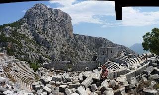 Teatro de Termessos.