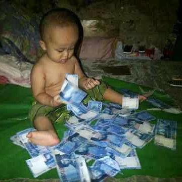 62+ Gambar Lucu Tuyul Bawa Uang Paling Hist