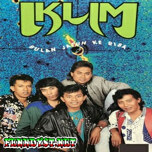 Iklim - Bulan Jatuh Ke Riba (1991) Album cover