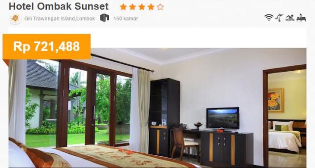 Hotel Ombak Sunset Gili Trawangan Cari Promo