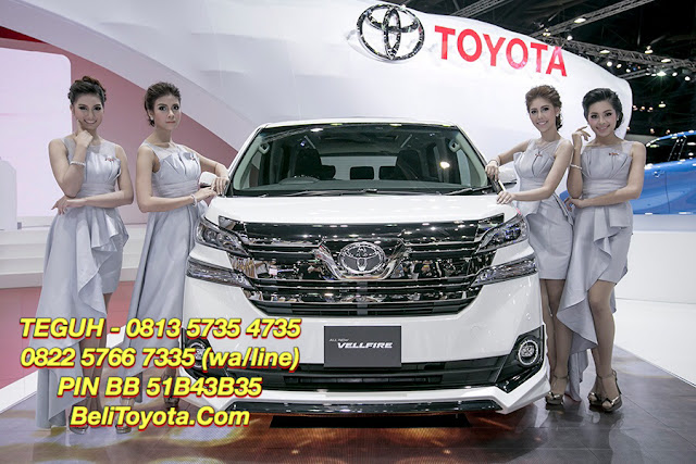 Harga Toyota All New Vellfire di Surabaya