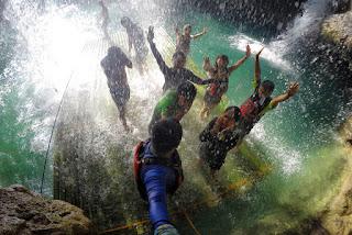 Kawasan Falls: Shower Massage
