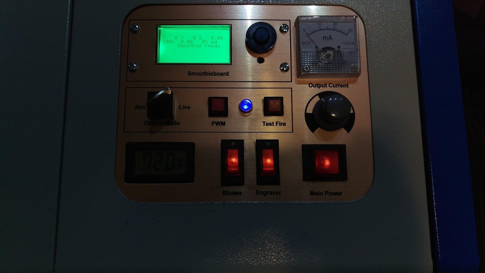 MakerMonkey: Hacking the K40 Laser Cutter