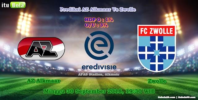 Prediksi AZ Alkmaar Vs Zwolle - ituBola