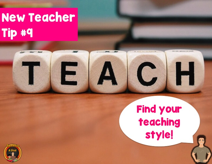 First-year teacher tip find your teaching style