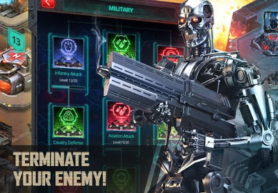 Download Terminator Genisys: Future War Apk v1.0.6.64 Full MOD Hack Unlimited All Terbaru