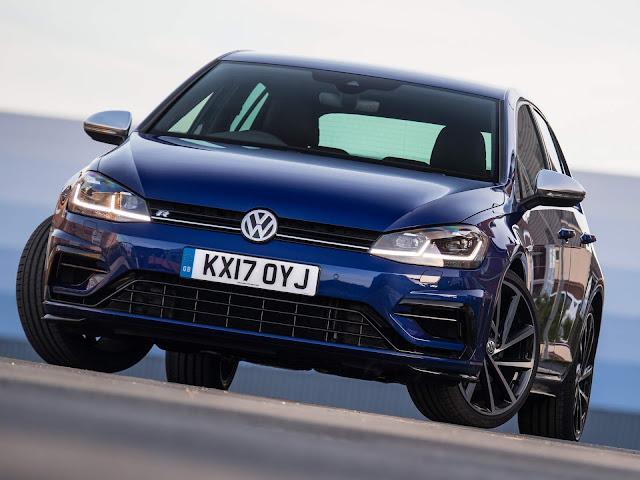 VW Golf foi o carro mais vendido na Inglaterra em junho