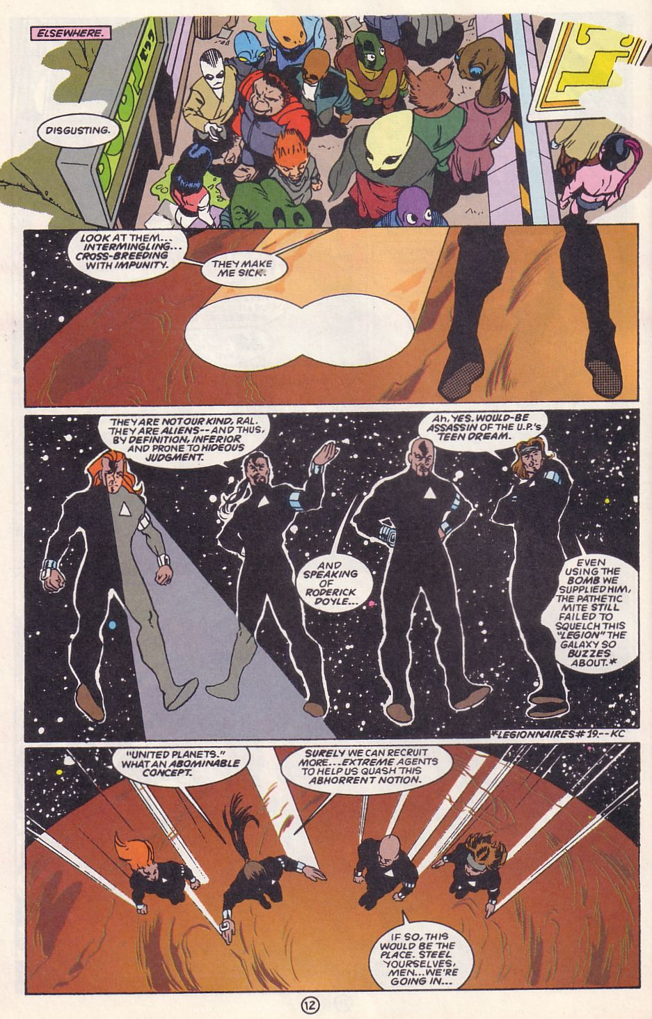 Legion of Super-Heroes (1989) 63 Page 12