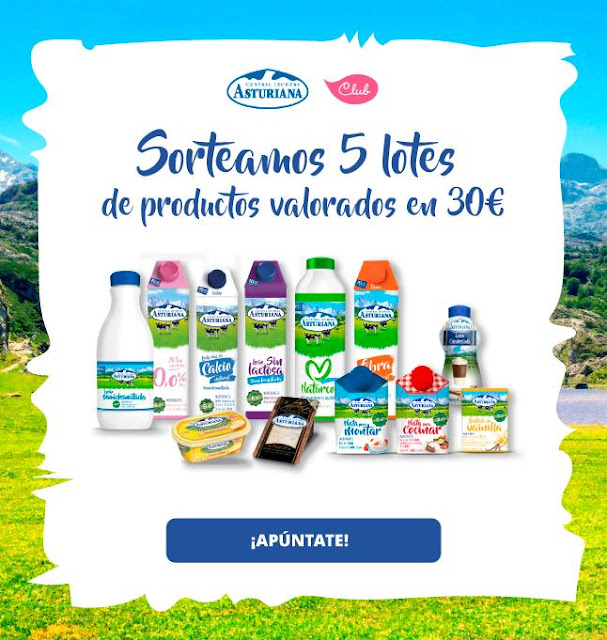 Sorteo lote productos Club Central Lechera Asturiana