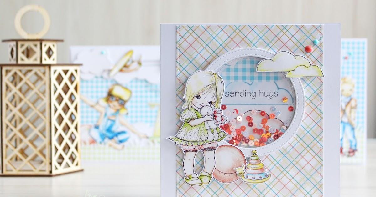 Девочке, интерактивные открытки скрапбукинг