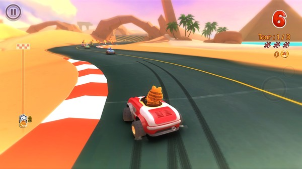 Garfield Kart PC Full Version Screenshot 3