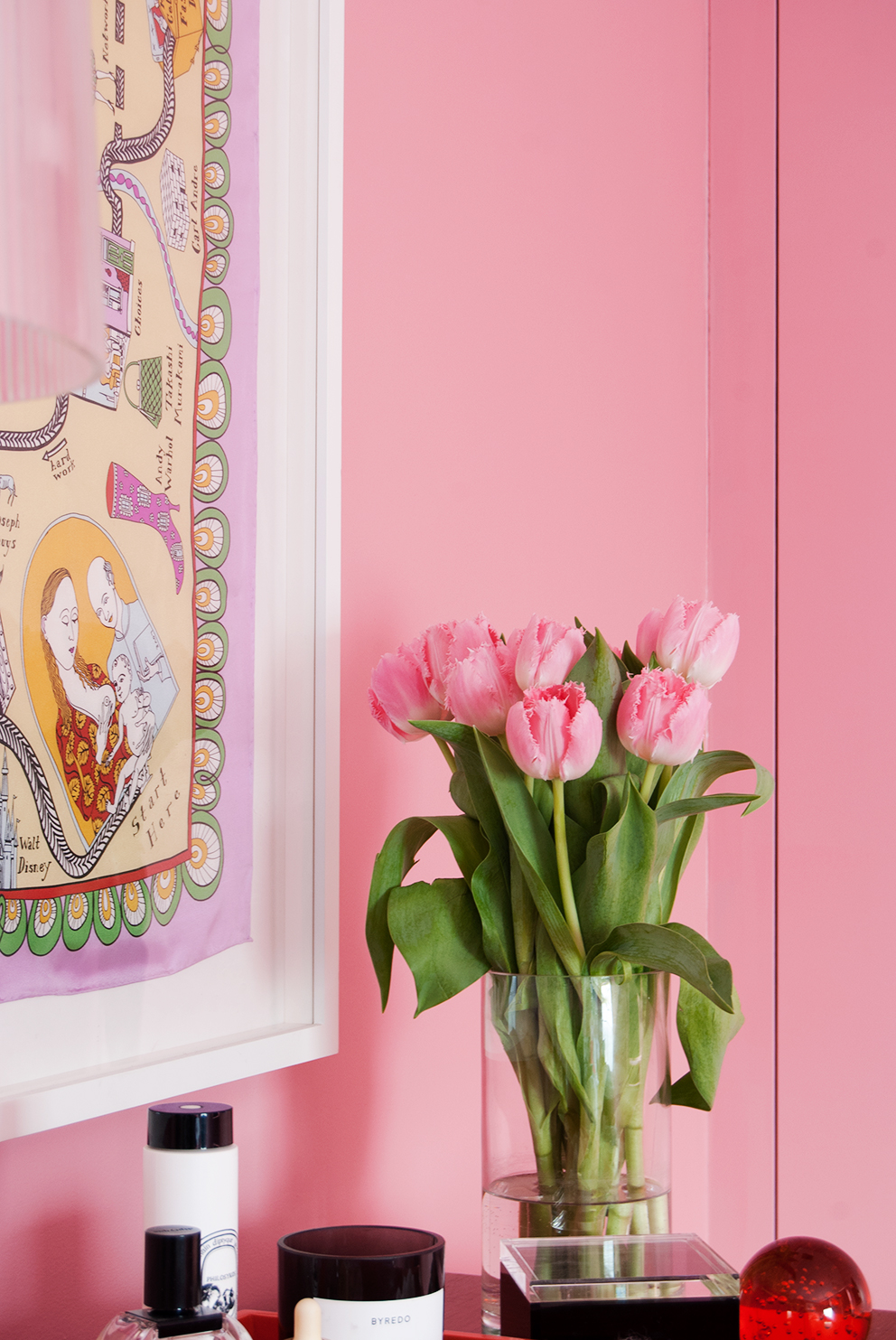French For Pineapple - Pink Master Bedroom