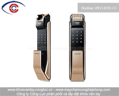 Khóa cửa vân tay Samsung SHS-P718.