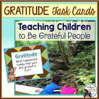 Gratitude Task Cards