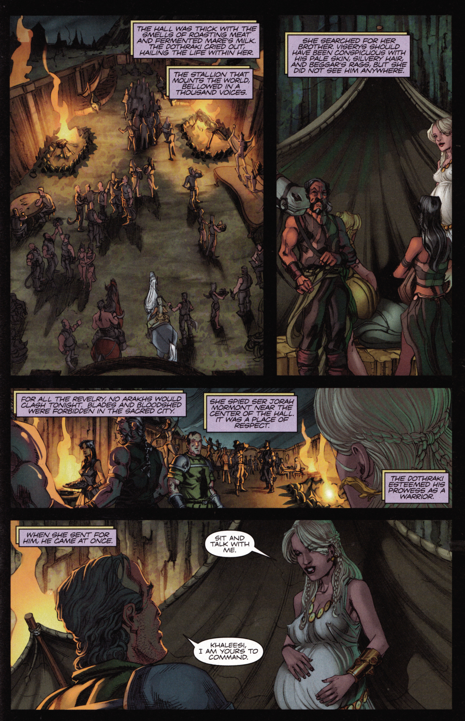Read online A Game Of Thrones comic -  Issue #15 - 25