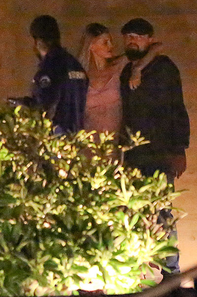 Leonardo DiCaprio and Kelly Rohrbach in Malibu