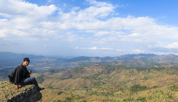 Pemandangan Indah di Gunung Besek, Kismantoro, Wonogiri