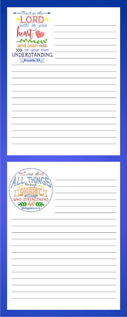Free Four Bible Notepads2
