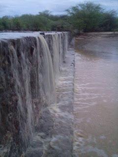 Muita Chuva em Frei Martinho, pluviômetros registram mais de 100 mm