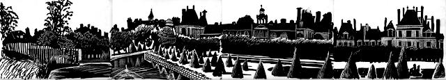 Gwen Tomahawk Canal 2 Chateau de Fontainebleau