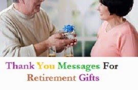Thank You Messages Retirement