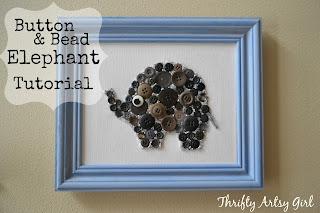 http://thriftyartsygirl.blogspot.com/2016/01/easy-diy-button-and-bead-elephant.html