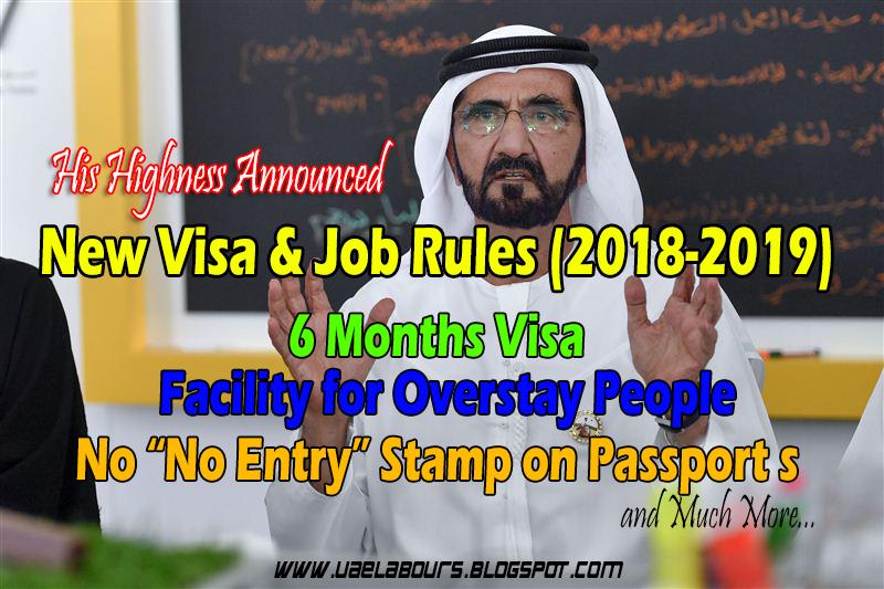 Dubai 6 Months Visa Rules