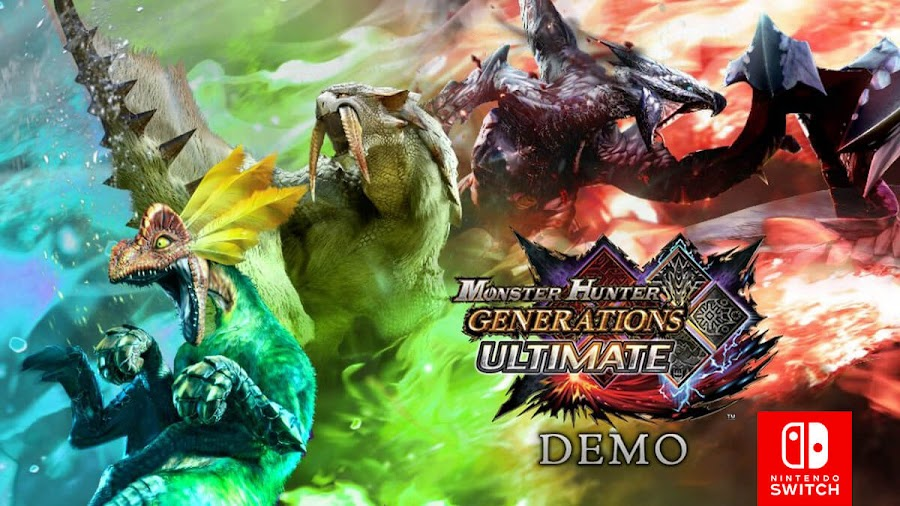 monster hunter generations ultimate switch free demo