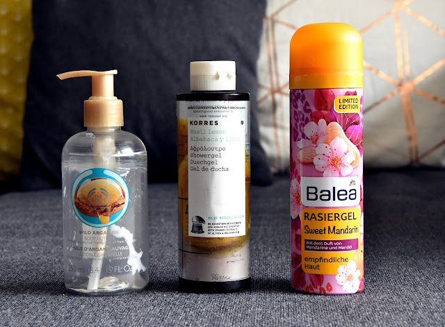 Aufgebraucht - Körperpflege 2016