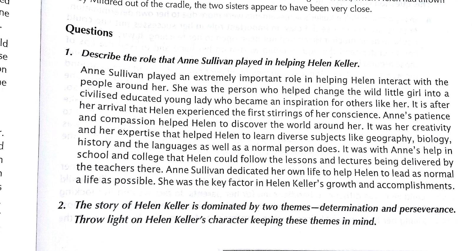 Short Essay On Helen Keller Essay On Helen Keller The