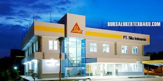 Lowongan Kerja Operator Produksi di PT Sika Indonesia
