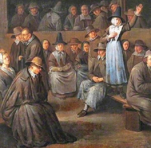 Lightwaveseeker: Will the True Quaker Please Put on His Hat? Quakers