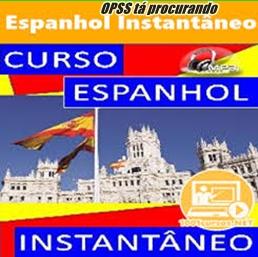 Curso espanhol instantãneo, é só aqui!