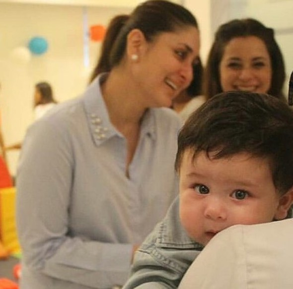 Dapat Anak Paling Tampan Di Dunia, Kareena Kapoor Bangga Dengan Taimur Ali Khan